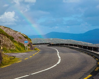 Road on the Ring of Kerry