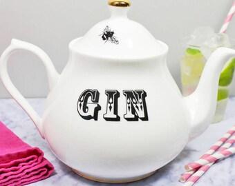Gin in a Teapot