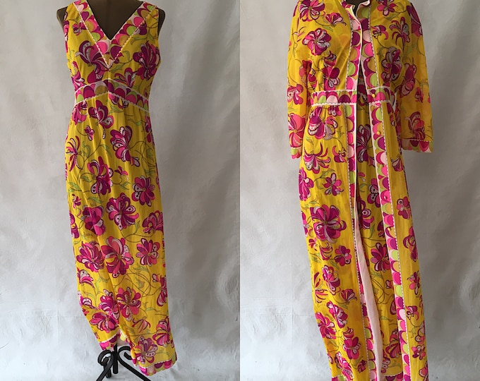 Emilio Pucci Formfit Rogers Robe and Gown