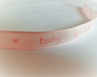 BABY cotton ribbon for boy or girl