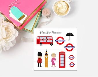 99 Cent Mini Sheets  London- Snowflake -Let's Party!-Puppy Love   Erin Condren Happy Planner