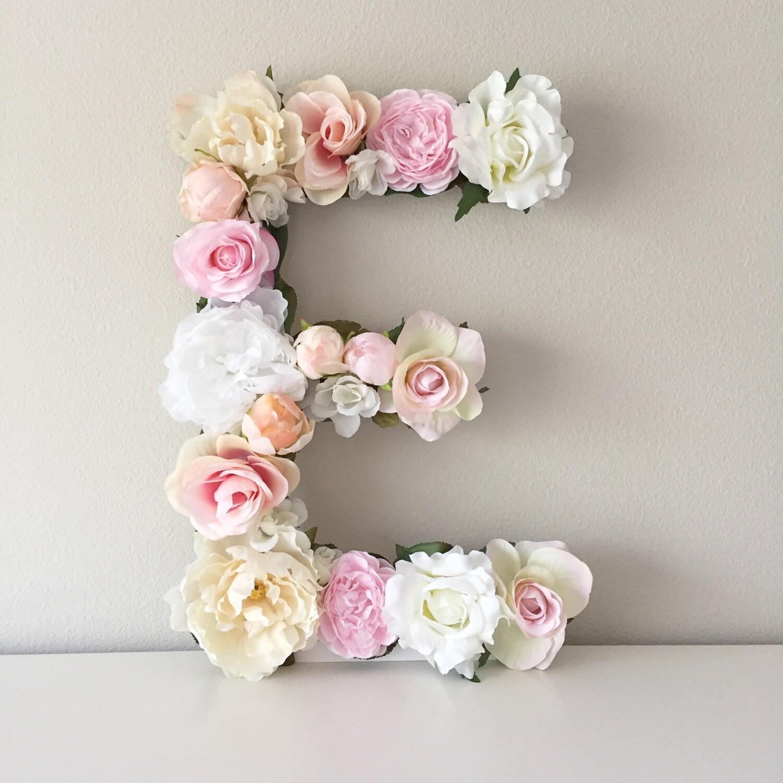 Floral Letter Flower Letter Floral Monogram