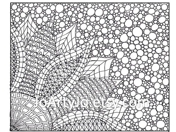 Zentangle pages to print