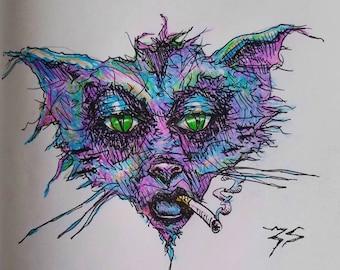 Street Rat Print
