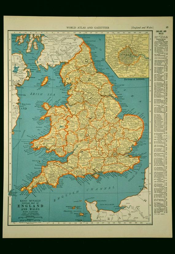 England map england vintage wales united kingdom 1930s gumiabroncs Images