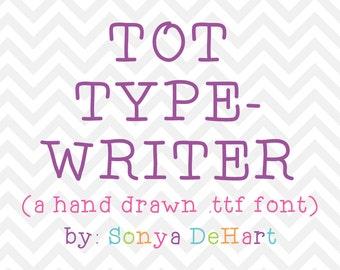 80% OFF SALE Hand Written Font, Downloadable Font, Handwriting Font, Font Download, Digital Font, Font, Typewriter Font, Silhouette Font