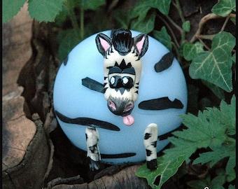 "Night light ""ZY"" - Zebra - Les NIMOZ - Savannah Collection"