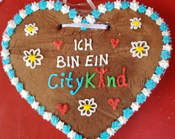 Gingerbread Heart - 8 inch (Lebkuchen)