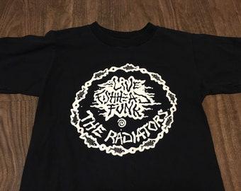vintage the Radiators live Fishhead Funk medium t shirt fits like small