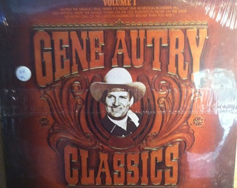 Gene Autry Classics Sealed Vinyl Country Record Album