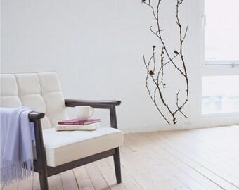 Tree Wall Decal Nature's Elegance - Vinyl Wall Stickers Art Graphics Custom Home Decor