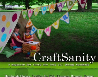 SALE! CraftSanity Magazine Issue 3 Print Edition