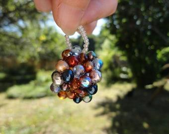 sale 50% pendant square beads