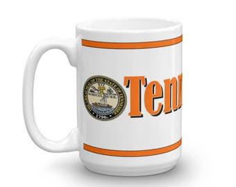 Tennessee Mug, Tennessee Keepsake, Tennessee Memorial Cup, Tennessee Pride, Tennessee Coffee Cup, Tennessee Coffee Mug