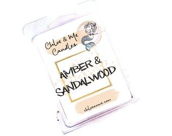Parasoy Wax Melt Clamshell- Amber & Sandalwood