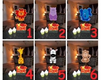 Dinosaur Birthday Party Centerpieces Theme DIY 12 Small