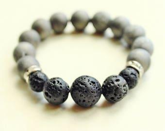 Aromatherapy, Essential Oil Bracelet, Lava Stone Jewelry, Essential Oils Jewelry, Essential Oils, Elegant Jewelry, Elegant Bracelet, Agate
