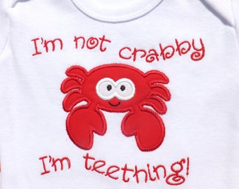 I'm Not Crabby One-Piece