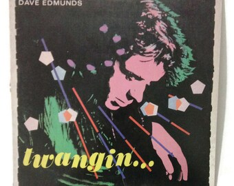 "Dave Edmunds - ""Twangin..."", SS-16034, vintage vinyl record LP, ex/vg+"