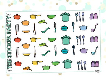 Cooking Planner Stickers