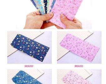 Floral Envelopes Pack of 5