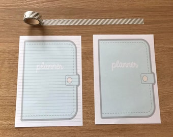 Planner Snail Mail Pen Pal Writing Paper