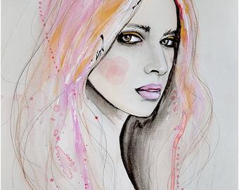 Marie Eve 2 - impression d'Art