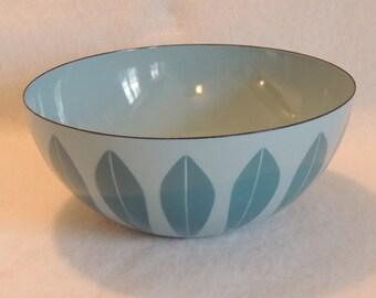 Vintage Catherineholm Enamel 9.5 In Lotus Bowl RETE PRYTZ KITTELSEN Mid Century Norway