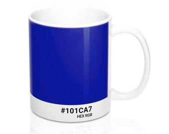 Lol Cat - #101CA7 HEX RGB Coffee Mug
