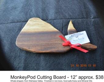 Hawaiian Monkey Pod Cutting Boards