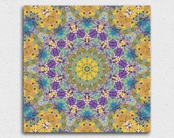 Mandala décor mandala téléchargement numérique mandala oeuvre art du mandala imprimer