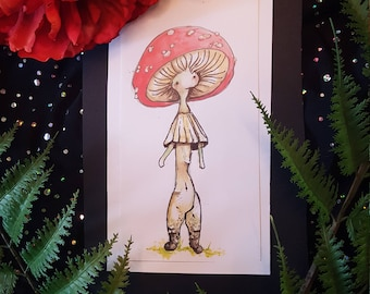 """Original Fairy Art ~ """"Cap"""""""
