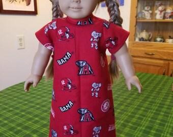 American Girl Doll Nightgown (SKU M114)