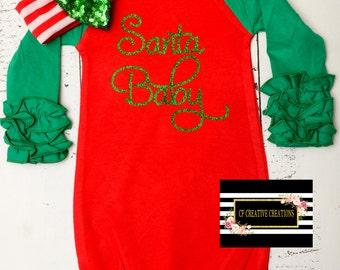 Santa Baby Gown