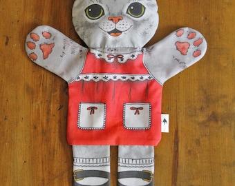 Kitty-Handpuppe