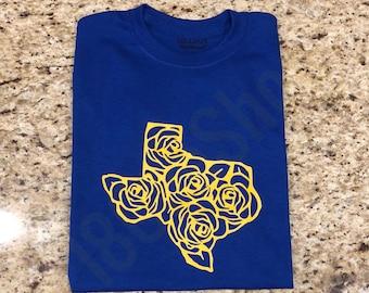 Texas rose tshirt