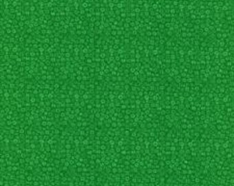 RJR Fabrics; 'Kelly Green' Fabric By the Yard, Basically Patrick by Patrick Lose, 2627-15