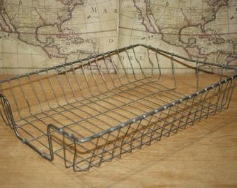 Wire Desk Tray - Wire In Out Basket - Wire File Tray - Item #2747