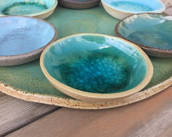 House Warming Gift, Set of 6 Small Ceramic Bowls, Handmade Ceramics, Gift for Mom, Hostess gift, Home Decorations - Artist's choice