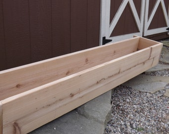 Cedar window box/Flower box/Window planter