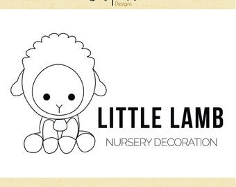 Premade Logo & Watermark // Baby Logo // Kids Logo // Nursery themed logo // Whimsical Logo // Handmade logo //Solipandi Design Studio//#048