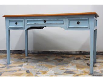 Light Blue Writing Desk