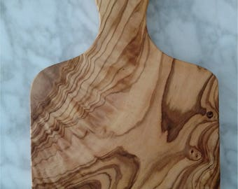 Engraved Wedding, Anniversary Olive Wood Paddle Board