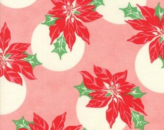 Schwellen Sie Christmas von Urban Küken - Pointsettia Polka Dot in Rosa