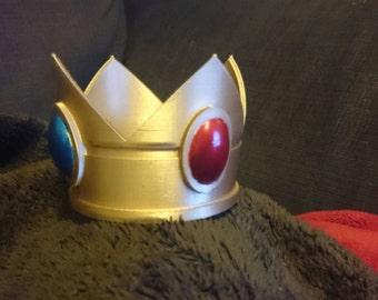 Princess Peach-inspired Crown - 3D Printed
