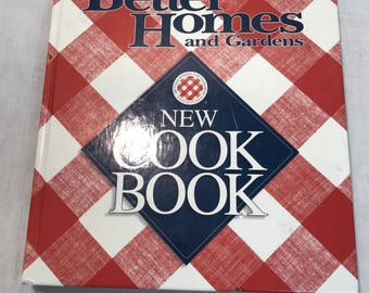 Better Homes and Gardens New Cook Book - 1996