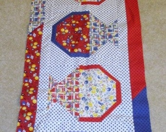 20% off thru 7/10 A TISKET a TASKET May Baskets quilted table runner pattern Spring may Year two