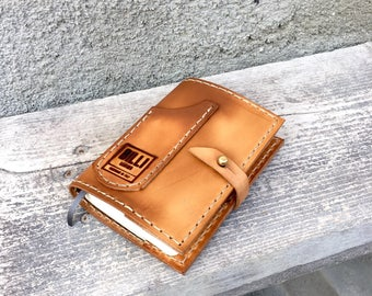 Small journal leather cover