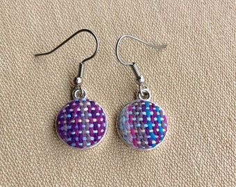 She Sells Seashells 12mm drop earrings