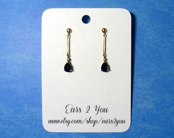 Custom Earring cards . earring/jewelry display . personalized product display . etsy seller supplies . bright white earring or jewelry cards